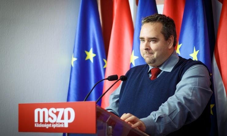 Kiss László országgyűlési képviselő. Fotó: mszp.hu