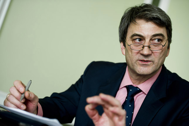 Cséfalvay Zoltán, a a magyar kormány OECD-UNESCO nagykövete. Fotó: origo.hu