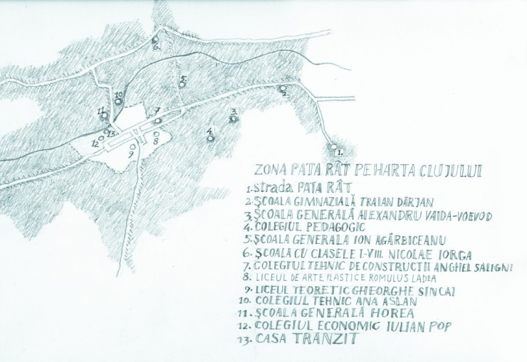 Patarét térképe