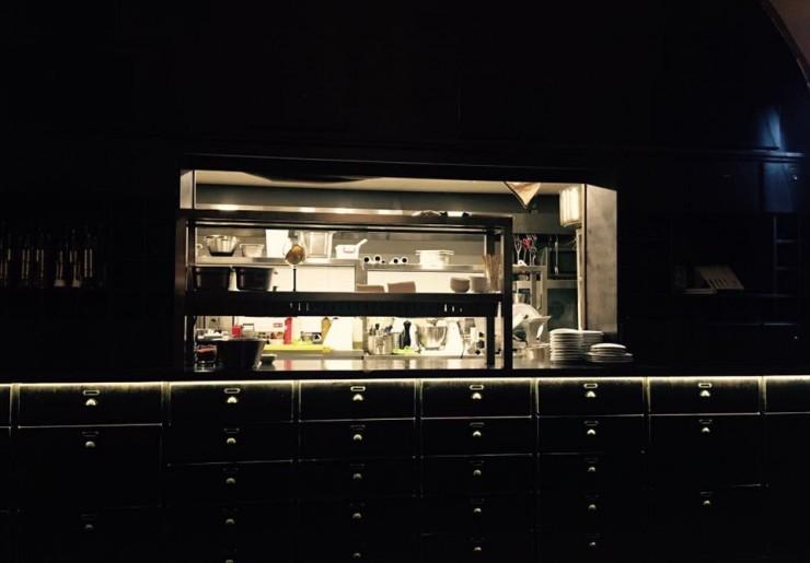 A L´Alchimiste konyha. Fotó: az étterem Facebook-oldala