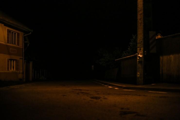Éjszaka igazán puszta a Puszta. Fotó: Fodor Zsuzsánna
