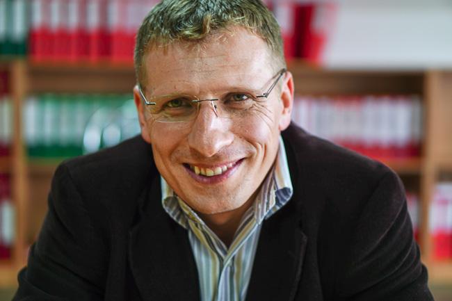 Koszta Attila, a vállalat igazgatója. Fotó: Egyed Ufó Zoltán/uh.ro