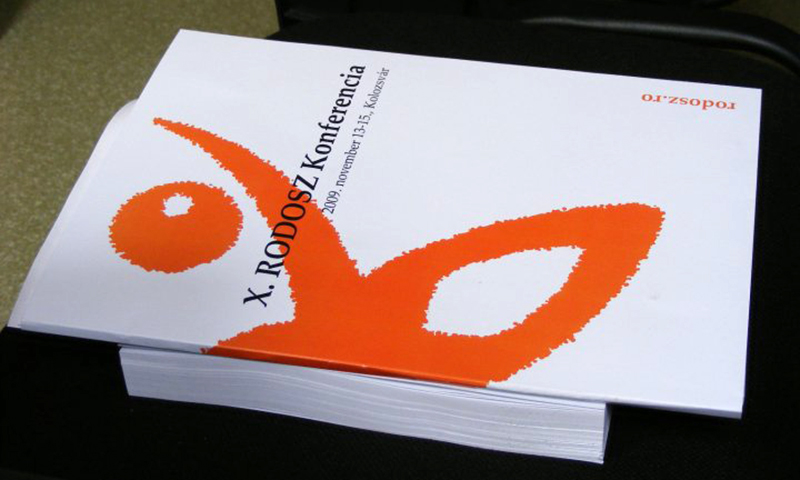 RODOSZ-konferencia programfüzete