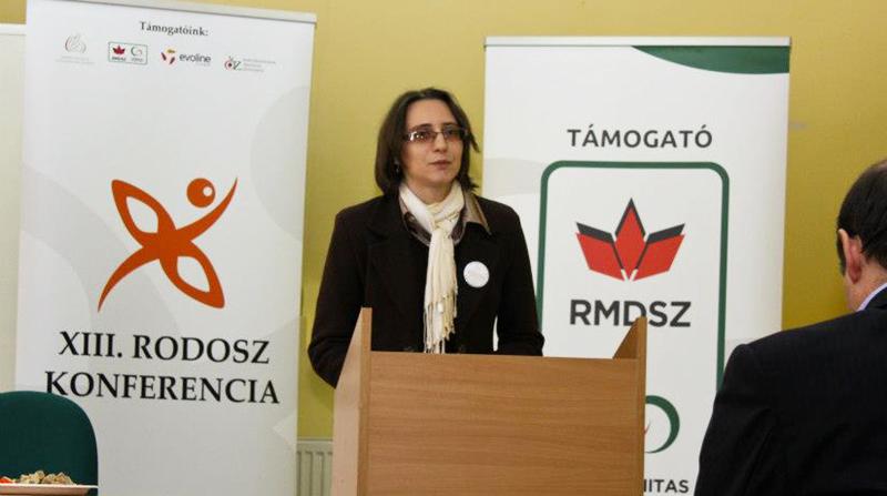 Székely Tünde konferencián