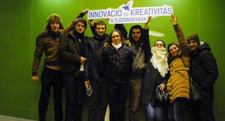 A RODOSZ innovációs konferenciájának szevezői stábja