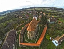 Saxon fortified churches turned into Disney-style kitsch