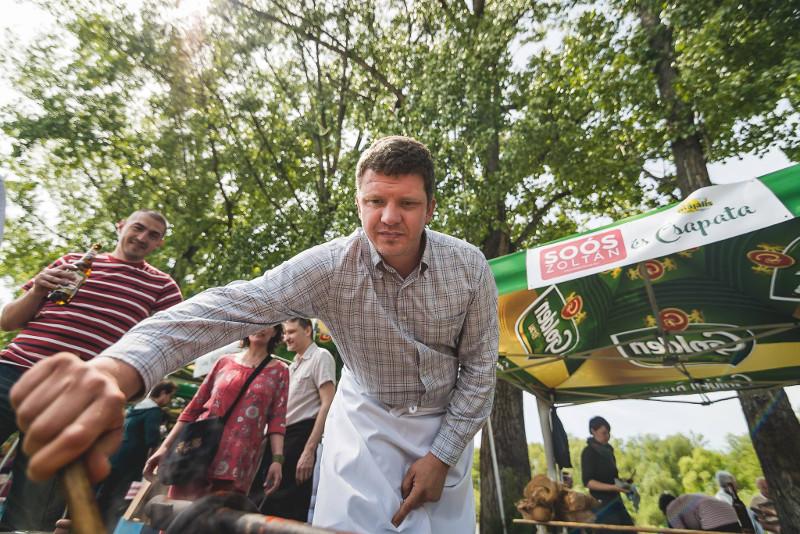 Zoltán Soós kampányban