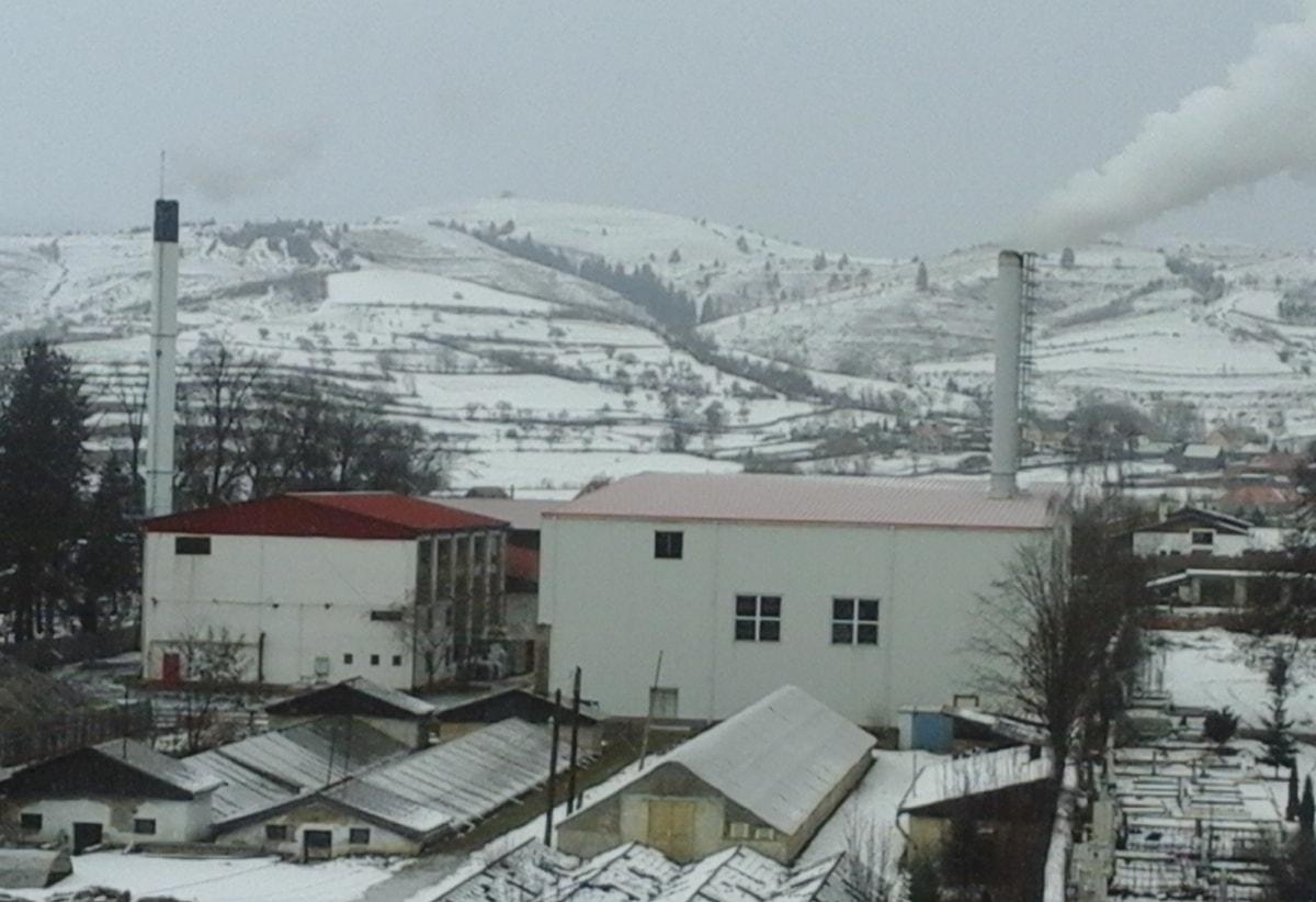 Kazánház Gyergyószentmiklóson. Fotó: Hargita Népe