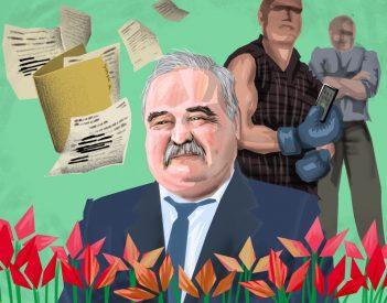 Az ex-milicista polgármester községében a csend az úr