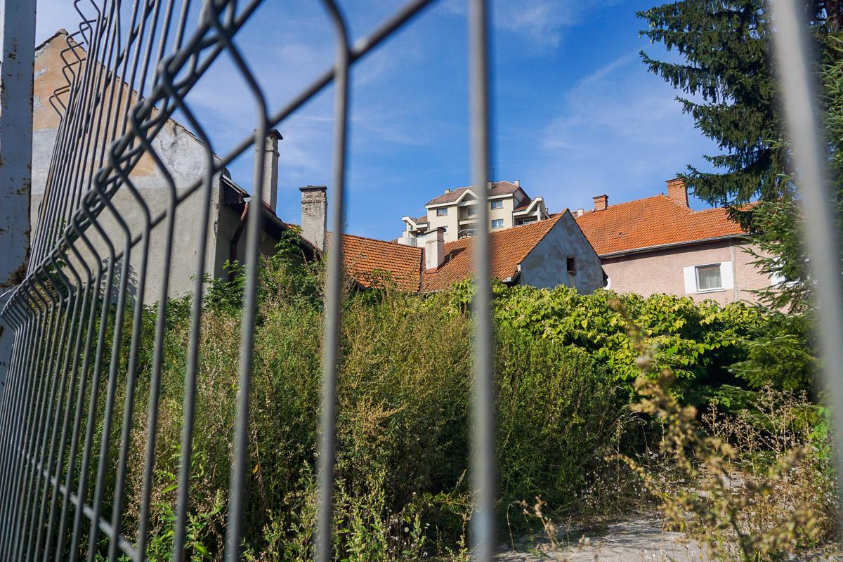 Sepsiszentgyörgy, Sapientia alapítvány által megvásárolt ház.