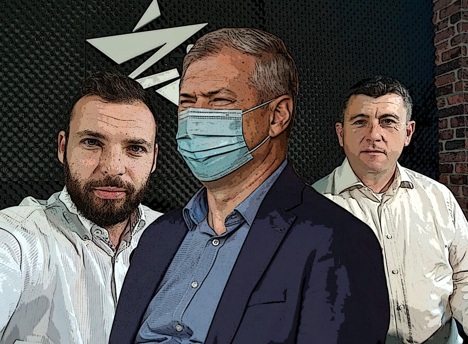 Bíró Barna Botond, Péter Ferenc, Borboly Csaba