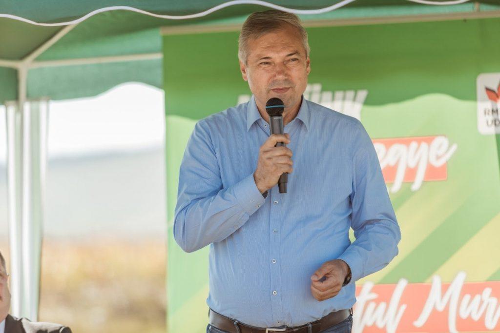 Péter Ferenc cóvolt szovátai polgármester, Maros megye tanácselnöke. Forrás: a politikus Facebook-oldala
