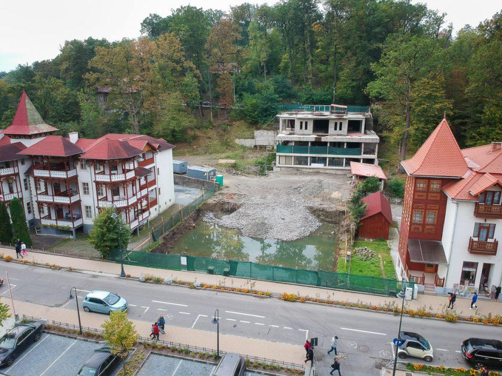 Construcția neterminată care se vede în spate nu face parte din acest proiect. Foto: Egyed Ufó Zoltán
