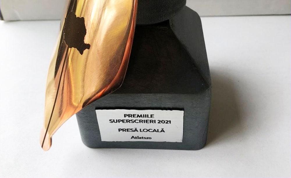 Superscrieri-díj az Átlátszó Erdélynek