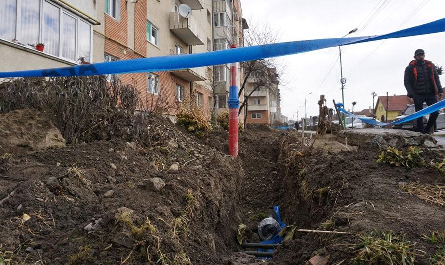 Lucrari la Targu Secuiesc