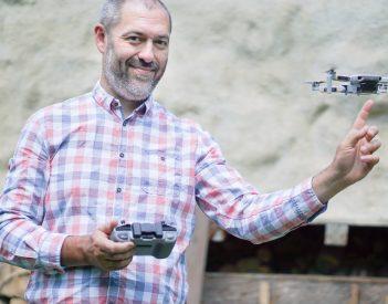 Íme az új drónunk. Köszönjük!