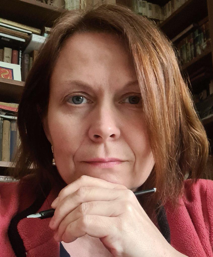 Csűrös Réka, a magyar tagozat egyik korábbi vezetője