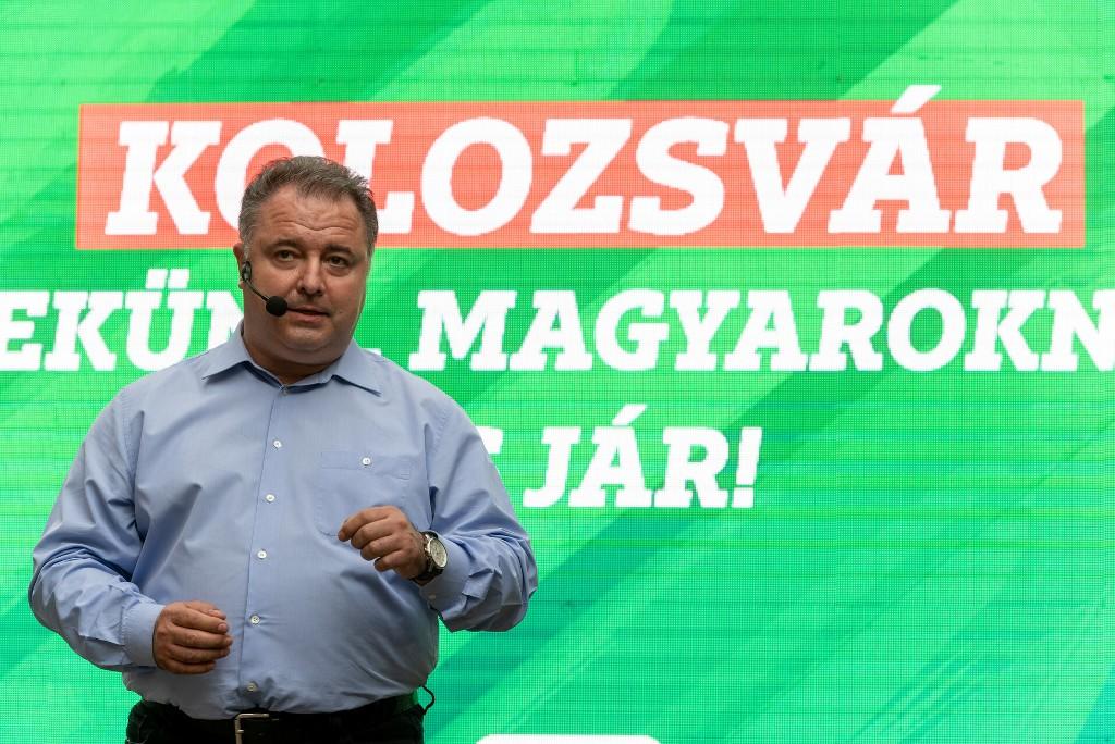 Vákár István, a Kolozs Megyei Tanács alelnöke. Fotó: maszol.ro
