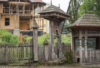 O vilă-monument din Sovata, demolată și reconstruită de firma familiei lui Ferenc Péter, președintele Consiliului Județean